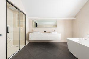 bathroom tile floors